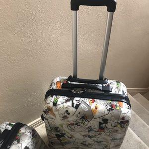 f4b89e01ac8 Bags - Rare htf Mickey Mouse comic two piece luggage set